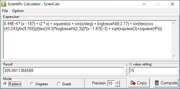 Scientific Calculator - ScienCalc